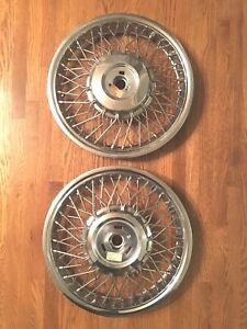 Gm Chevy Celebrity Pontiac 6000 14 Wire Wheel Cover Hubcap 1986 1989 New Os