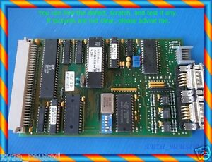 Multitest Ebl 284 Board 49 01 57 00 Mt93 Motor Smp Bus pcb Card As Photo