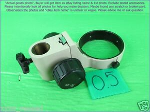 Olympus Sd stb3 Microscope Holder 76 Mm Post Hole 24 Mm As Photo Sn 0419