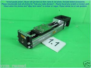 Thk Kr26 Linear Stage Ball Screw Travel Approx 70mm As Photo Sn 0695