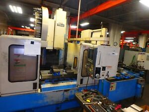 Mazak Mtv 414 32 Cnc Vertical Machining Center Vmc