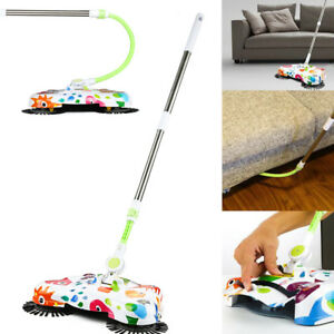Automatic Hand Push Sweeper Spin Broom Household Floor Clean Tools Without Elec