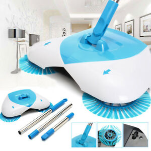 Automatic Hand Push Sweeper Spin Broom Household Floor Mop Without Electric