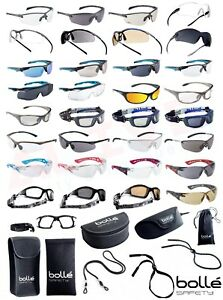 Bolle Safety Glasses Various Types Bolle Protection Case Pouch Adjustable Cord