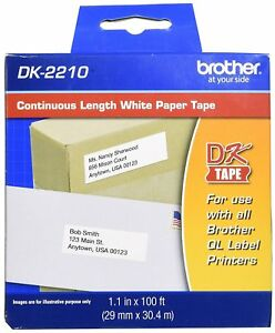 Lot Of 8 Oem Dk 2210 Labels For Brother Ql 570 Ql 1050 Please Read Authentic