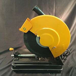 Chicago Electric 14 In 2 Hp Cut off Saw 3400 Rpm 1 Arbor