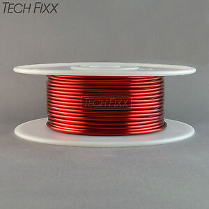Magnet Wire 14 Gauge Enameled Copper 210 Feet Coil Winding And Crafts Essex Red