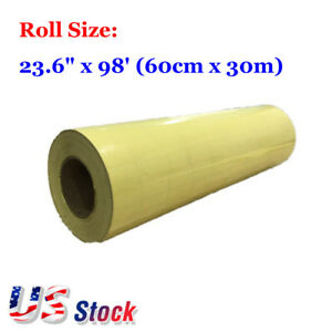 Usa 23 6 X 98 Application Tape Adhesive Transparent Film For Image Transfer