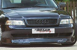 Audi A4 1996 2001 B5 8d Rieger Oem Infinity Front Spoiler Add on Primed New