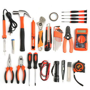 35pcs Multifuntional Tools Kit Set Steel Household Electrician Kits Hardware To