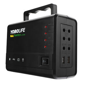 Yobolife 18w Solar Panel Portable Solar Powered System Power Generator With 4 L