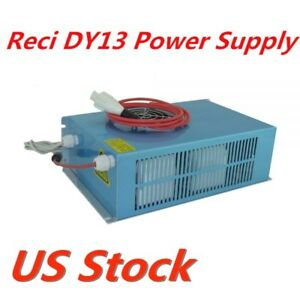 Usa Stock Reci Dy13 Power Supply For W4 S4 Co2 Sealed Laser Tube 110v Oem