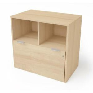 I3 Plus One Drawer Lateral File In Northern Maple