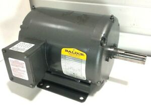 New Baldor Aom3614t 2hp Ac Electric Motor 184t 208v 230v 460v 1140rpm