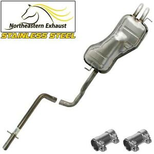 Stainless Steel Exhaust System Kit Fits Vw 1999 2006 Beetle Golf 1 9l