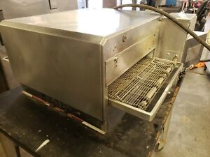 Used Lincoln Model 1301 Counter Top Conveyor Pizza Oven