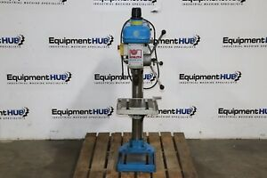 Knuth Ktb 18v 14 Variable Speed Industrial Bench Top Drill Press