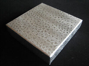 Jewelry Boxes 100 Silver Foil Cotton Filled Retail 33 Gift 3 X 3 X 1 H
