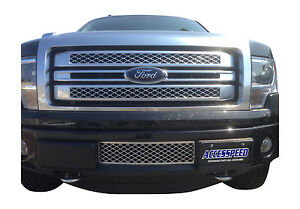 2011 2014 Ford F 150 3 5 Ecoboost Lower Bumper Grille And Intercooler Protector