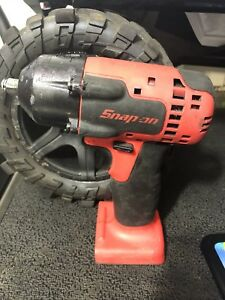 Snap On Cordless Impact Wrench Ct8810o Orange 3 8 Drive Tool Only