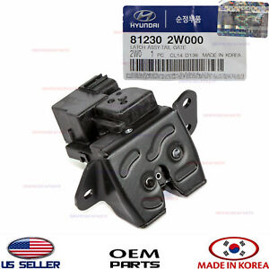 Tail Gate Latch Lock Oem Genuine Santa Fe Sport 13 16 Kia Soul 14 19 812302w000