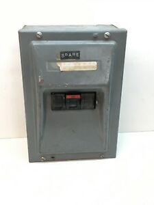 Fpe Federal Pacific Breaker Enclosure Box With 3 pole 20amp 3p 20a 240v Breaker