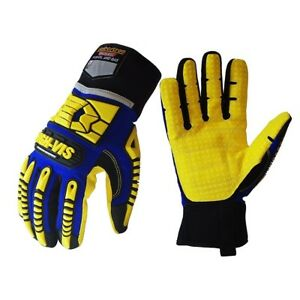 Seibertron Sdxw Cold Weather Safety Gloves Windproof Waterproof Oil Gas Gloves
