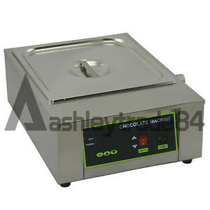 Single Tank 8 5kg Chocolate Tempering Machine Chocolate Melting Machine 220v