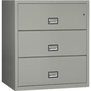 Lateral 38 Inch 3 drawer Fireproof File Cabinet