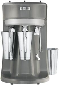 Hamilton Beach Commercial Drink Mixer Milkshake Maker 3 Speeds Triple Head