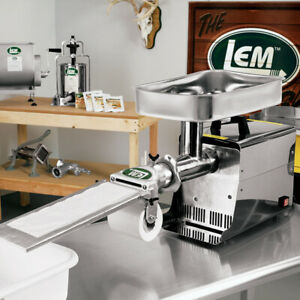Lem 8 Patty Maker Attachment For Meat Grinders