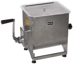 Weston Stainless steel Meat Mixer 44lb