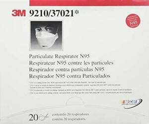 5 50pcs 3m 9210 N95 Particulate Paint Face Safety Respirator Adult Dust Masks