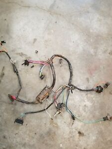 1968 Corvair Corsa Coupe Manual Trans Under Dash Wiring Harness With Fuse Box