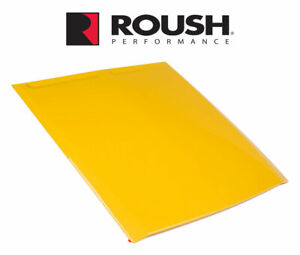 2015 2017 Ford Mustang Roush Abs Hood Scoop Custom Painted Triple Yellow H3