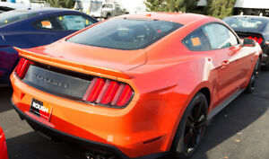 2015 2016 Mustang Coupe Roush Rear Spoiler Wing Competition Orange Cy 421884