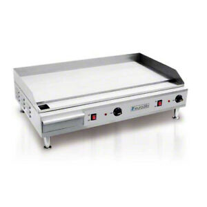 Eurodib Sfe04910 36 1 2 Light Duty Electric Countertop Griddle 220v