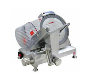 Eurodib Hbs 300l Commercial Electric Meat Slicer W 12 Blade