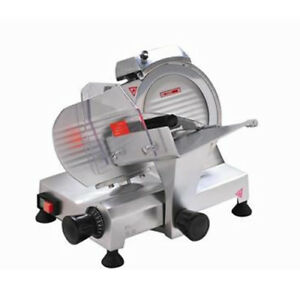 Eurodib Hbs 195js Commercial Electric Meat Slicer W 8 Blade