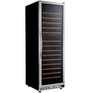 Eurodib Usf168d Dual Temperature Zone Urban Style Wine Cabinet W Led Lights