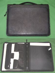 8 5x11 1 0 Full Grain Leather Day Runner Planner Monarch Franklin Covey