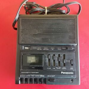 Panasonic Rr 930 Microcassette Transcriber tested