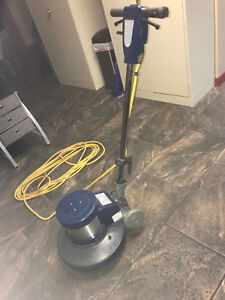 Tennant Bluestar 17 Low Speed Floor Buffer 1 5 Hp With 10 Pads