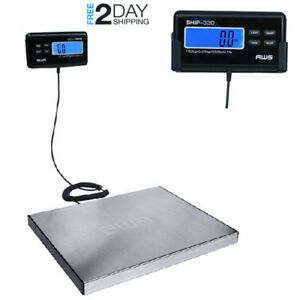 Weigh Scale Remote Indicator Digital Stainless Steel Weighing Platform Boxes