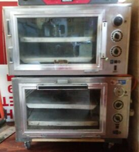 Used Electric Commercial Pizza Ovens Deluxe Equipment Supply Co Cb pb 1