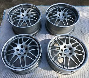 Hre 890r 3 Piece Forged Wheels Rims For Acura Honda Nsx 18x8 19x10 6000 Msrp