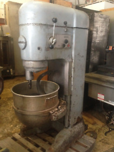 Hobart 80 Quart Dough Mixer Bakery Pizza Use M 802 220 Works Great Detroit