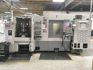 Haas Ec400pp Used Cnc Horizontal Machining Center