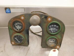 John Deere 530 Tractor Upper Dash Panel With Gauges R20402r 12546