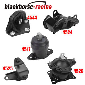 For 2003 2007 Honda Accord 3 0l Motor Trans Mount Set 5pcs For Auto Trans